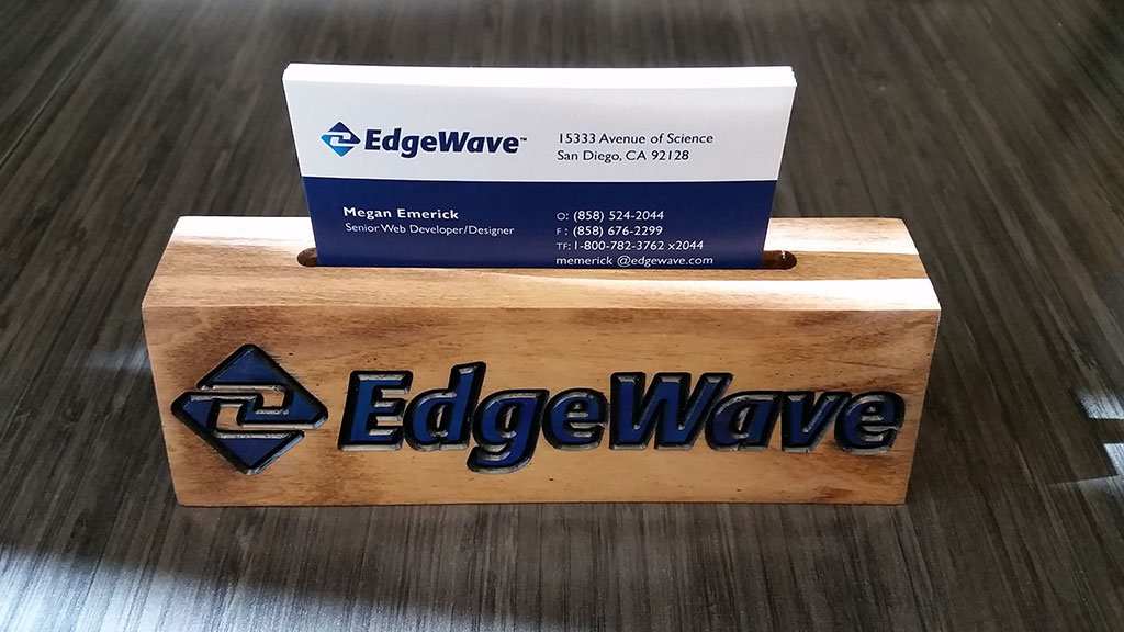 Business Card Holder | Sandy Eggo CNC