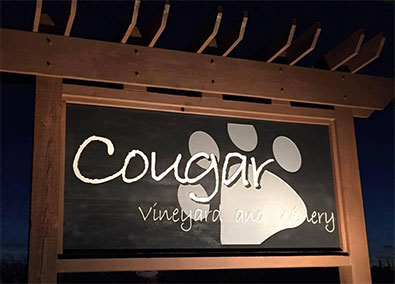 Cougar Vinyard & Winery