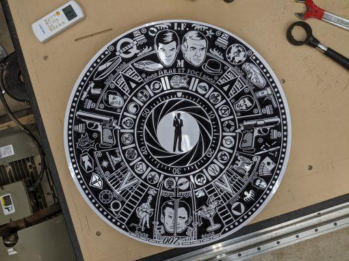 James Bond Azteca Calendar